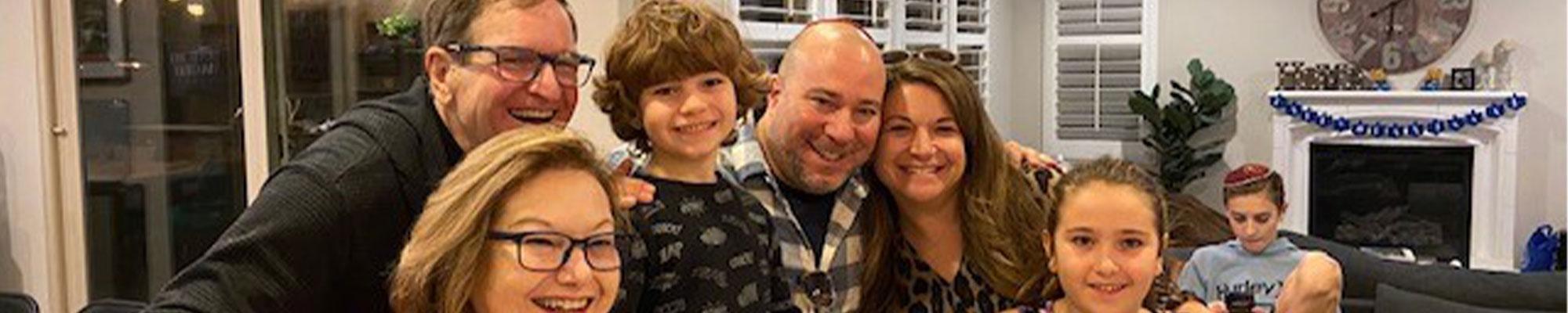 Ron Wolfson Family
